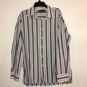 Perry Ellis XL Classic Casual Long Sleeve Shirt